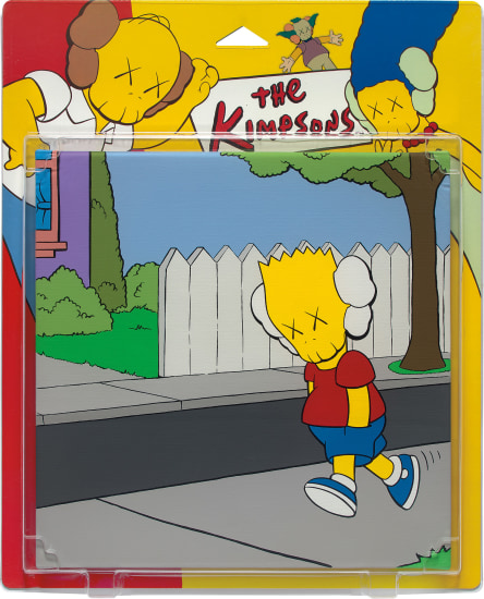 UNTITLED (KIMPSONS), PACKAGE PAINTING SERIES