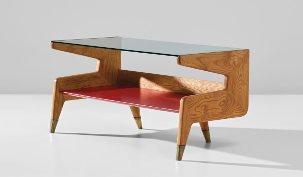 Coffee table, designed for the Second Montecatini building, Milan