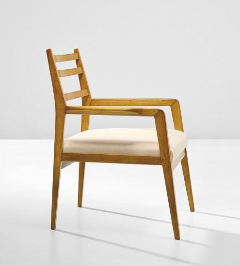 Armchair, designed for Casa Grimaldi, Naples
