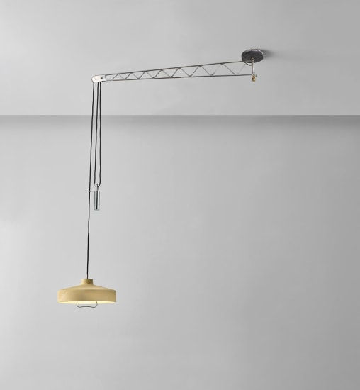 Unique ceiling light, variant of model no. 194n