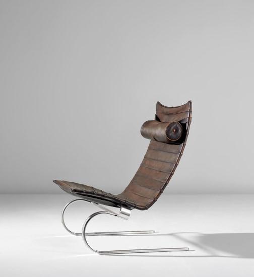 Lounge chair, model no. PK 20