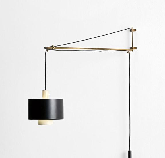 Adjustable wall light, model no. 2061