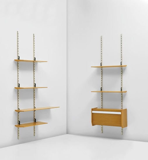 Two-part wall unit