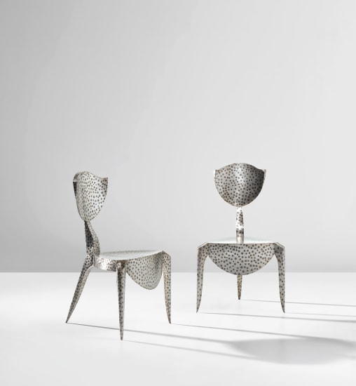 Two 'Paris' chairs