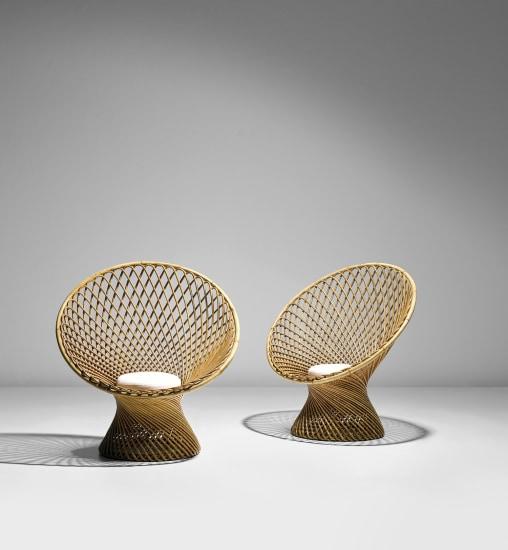 Pair of 'Primavera' armchairs