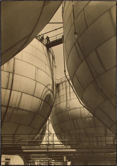 Storage Tanks for Gas, I. G. Farben, Leunewerke, Germany