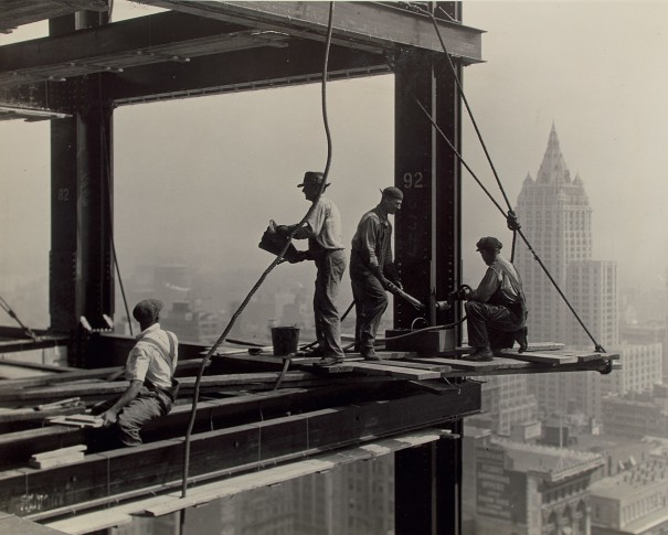 Riveters on the Empire State Building