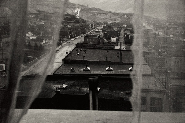 View from hotel window – Butte, Montana