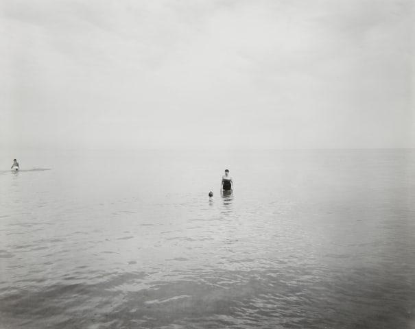 Eleanor and Barbara, Lake Michigan