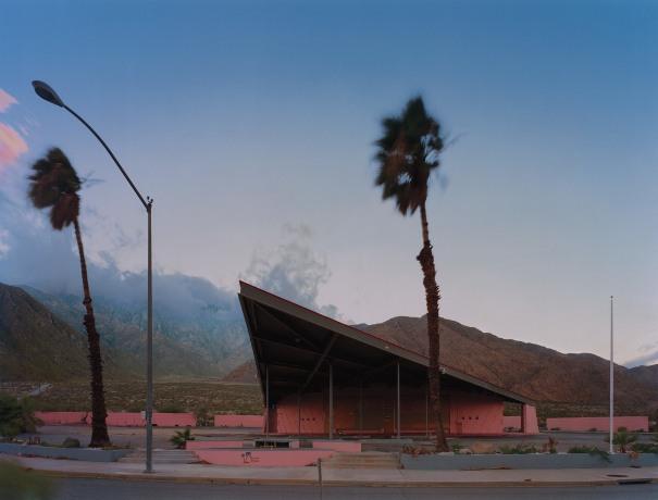 Gas Station, Palm Springs, CA, USA