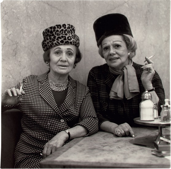 Two Ladies at the Automat, N.Y.C.