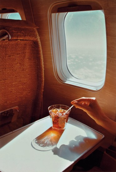 Untitled (cocktail on airplane)