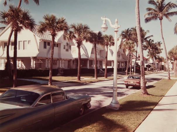 Sunset Avenue, Palm Beach, Florida, October 28, 1973