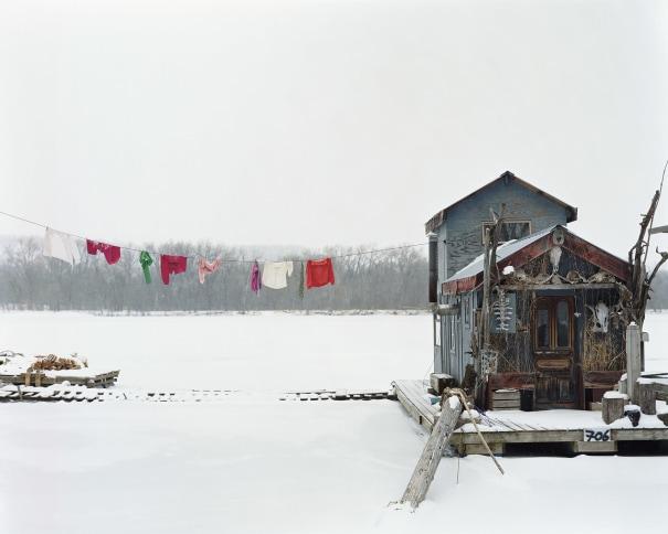 Peter's Houseboat, Winona, Minnesota