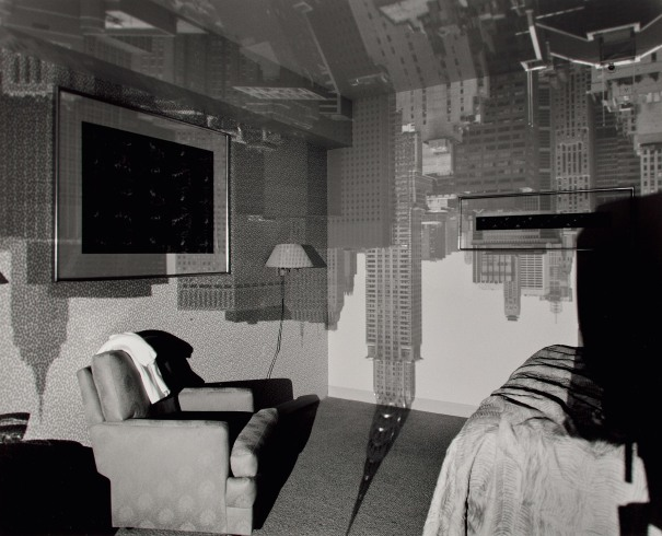 Camera Obscura Image of The Chrysler Building in Hotel Room