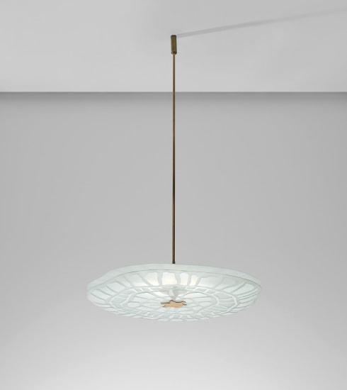 Large ceiling light, model no. 1705