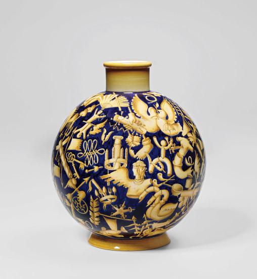Unique 'Pontesca' vase