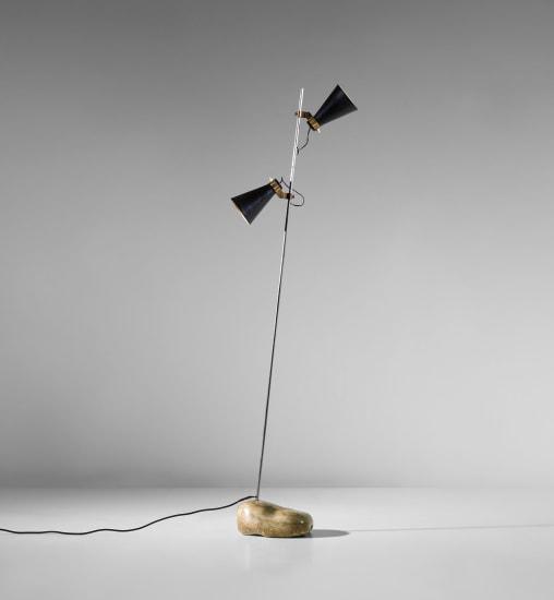 Rare 'Sasso' standard lamp