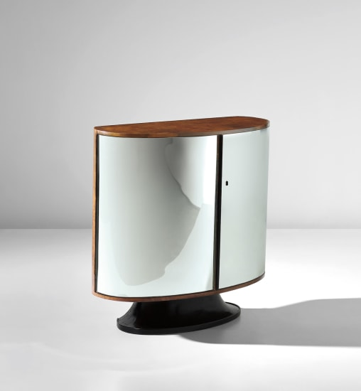 Rare illuminated drinks cabinet, model no. 1094