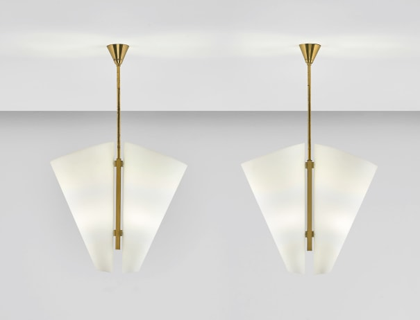 Pair of ceiling lights, variant of model no. 1930