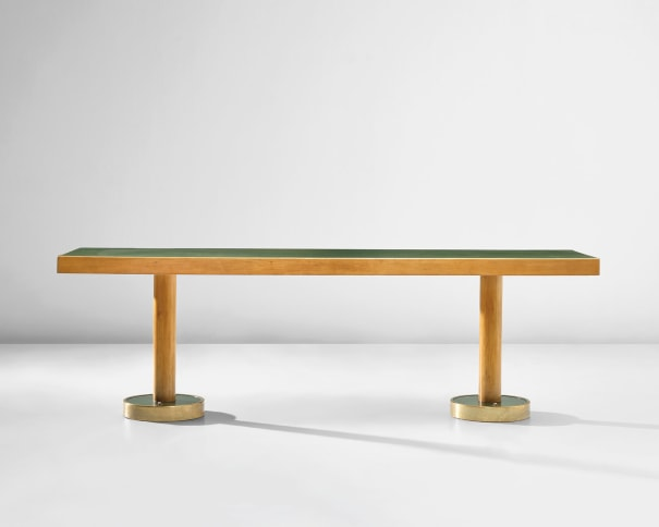 Dining table, designed for the 'Conte Grande' ocean liner