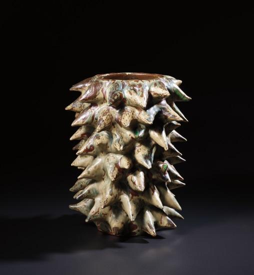 Unique vase in 'Den Spirende Stil' (The Sprouting Style)