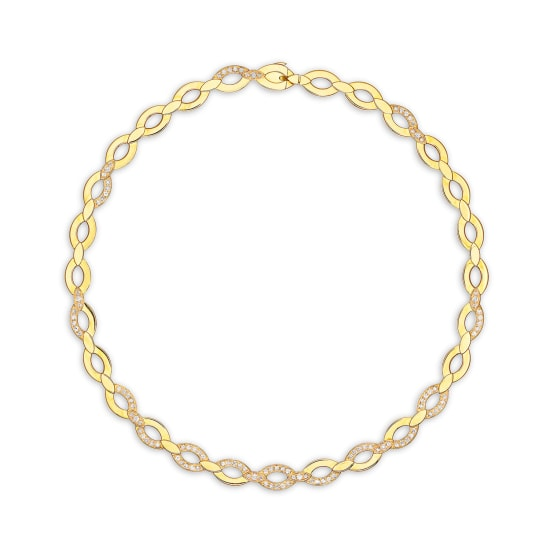 A Gold and Diamond Necklace, Cartier