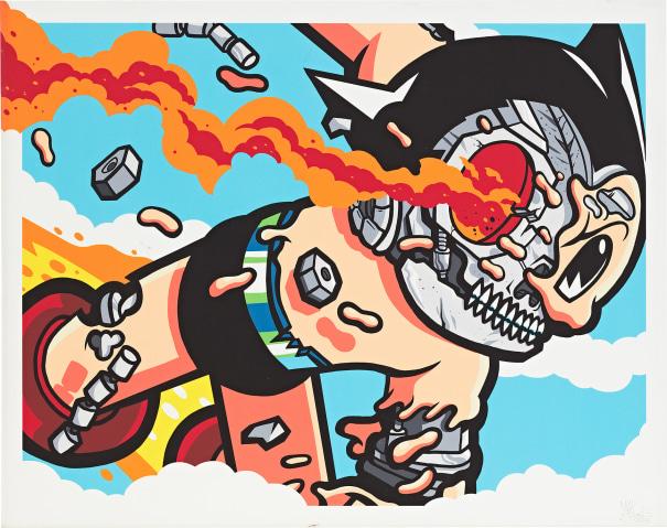 Matt Gondek Astroboy Deconstructed 2017 Phillips