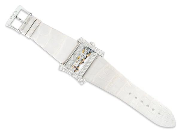 A Limited Edition Diamond Wristwatch, Golden Bridge, Circa 2005