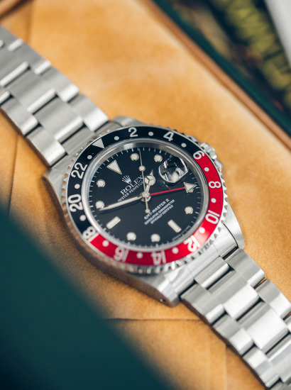 Ref 16710 GMT Master with 'Coke' bezel, Box and papers with original hangtags serial number A352673