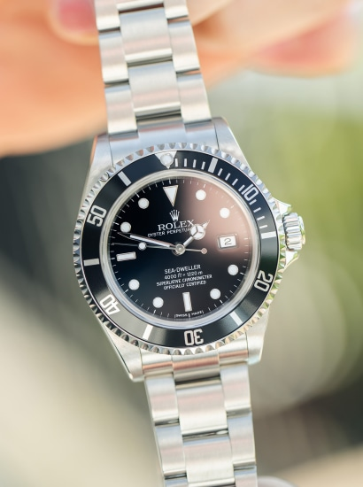 Seadweller 16600, F502817, automatic,  stainless steel, circa 2004