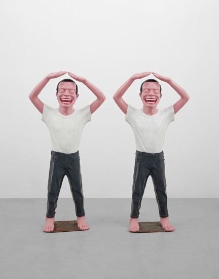Two works: Contemporary Terracotta Warriors No. 5