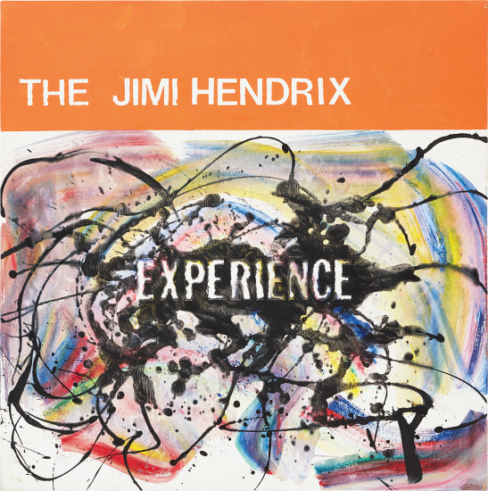 The Jimi Hendrix Experience from the series Jazz Paintings
