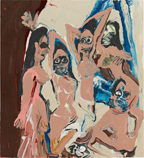 Les Demoiselles d'Avignon (After Picasso)