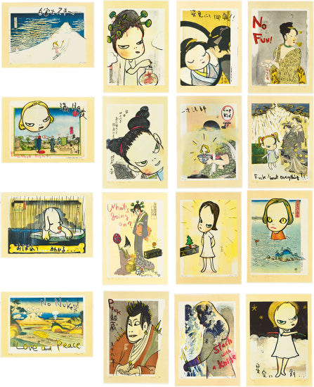 In the Floating World (set of 16)