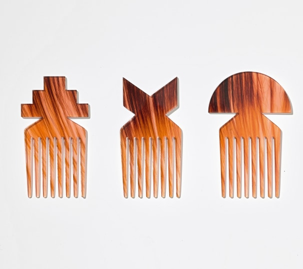 Hair Highway, Comb (set of three)