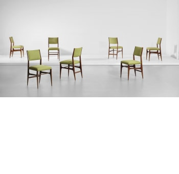 959e56724e Gio Ponti Set of seven dining chairs. Sold for £ 16,250. Casa di Fantasia