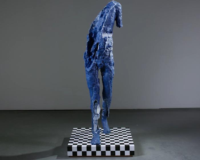 David Altmejd - Blue Figure
