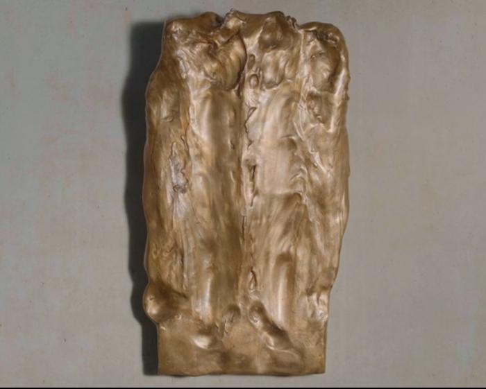 "Camille Henrot - Faciathérapie (Mina Hebbaz) (série ""Sculptures Massées"")"