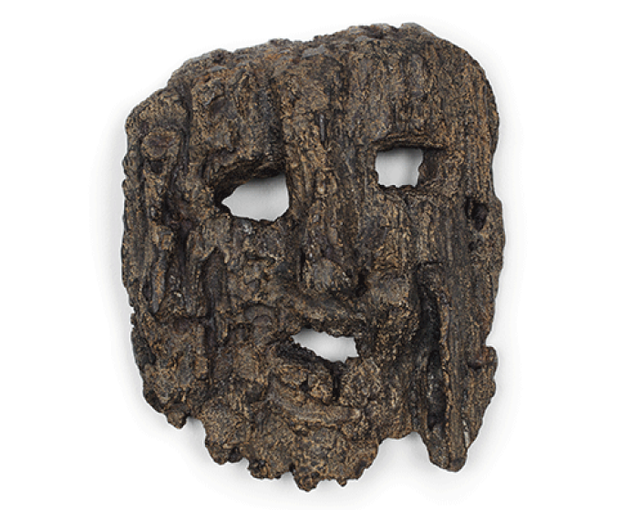 Sherrie Levine - Tree Bark Mask
